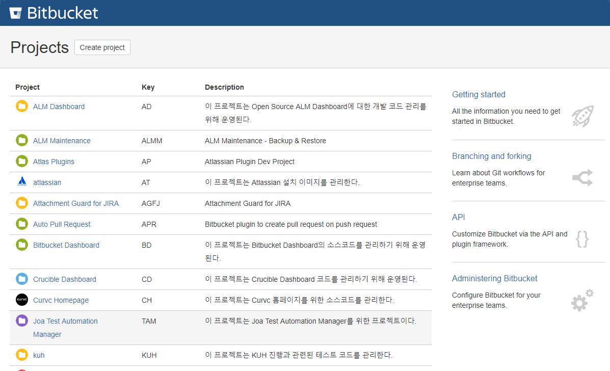 Atlassian Bitbucket 소개 - (주) 커브